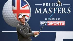 11 14 OCTO EUROPEAN TOUR Sky Sports British Masters