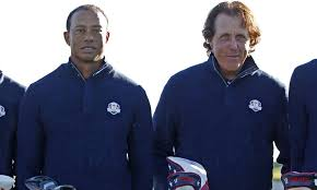 TIGER WOODS AND PHIL MICKELSON DUEL AT THE 2009 MASTERS